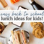 #AD Turkey, swiss, tomato and spreadable cheese makes this a tasty kid-friendly sandwich - perfect for back to school! Keep reading for more back to school lunch ideas with Safeway.