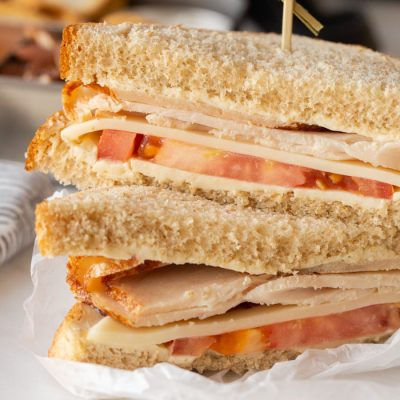 Turkey, Swiss and Tomato Sandwich