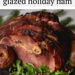 AD: This deliciously glazed holiday ham has flavors of apple, maple, brown sugar and warm spices! It's easy to make and will be the star of your table! #safeway
